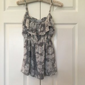 Jeans west top size small sleeveless small straps